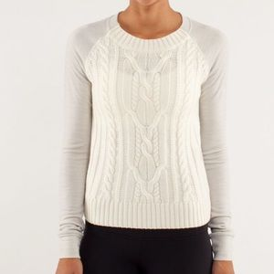 VGUC Lululemon St Moritz Sweater - Size 6
